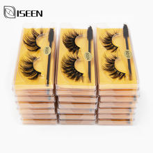 Cílios atacado 5/10/20/50/100 3d vison cílios naturais cílios de olho falso por atacado vison cílios maquiagem cílios falsos