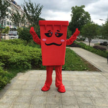 [TML] Cosplay Trash Mascot Costume carnival stage performance Cartoon character costume Advertising Party Costume