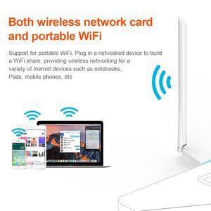 Para Tenda U2 versión de unidad gratuita 150MBPS inalámbrico de escritorio móvil portátil WiFi tarjeta de red USB receptor