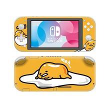 ויניל מסך עור חמוד אנימה Gudetama מגן מדבקות עבור Nintendo מתג לייט NS קונסולת Nintend מתג עורות לייט