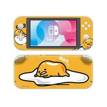 Vinyl Screen Skin Cute  Anime Gudetama Protector Stickers for Nintendo Switch Lite NS Console Nintend Switch Lite Skins
