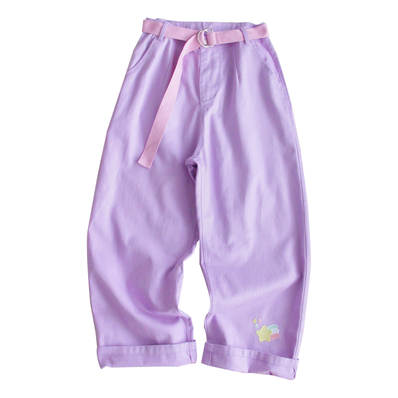 semaine haute pantalon Remise