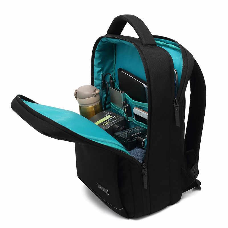 をポソバックパック 15.6 インチ USB ノートパソコンのバックパック屋外旅行バックパック学生バッグ多機能バックパック
