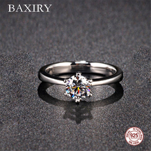 Trendy Amethyst Gemstones Silver 925 Jewelry Engagement Rings Aquamarine Ring For Women Silver Ring Blue Sapphire Ring 2019 New chic floral faux sapphire ring for women