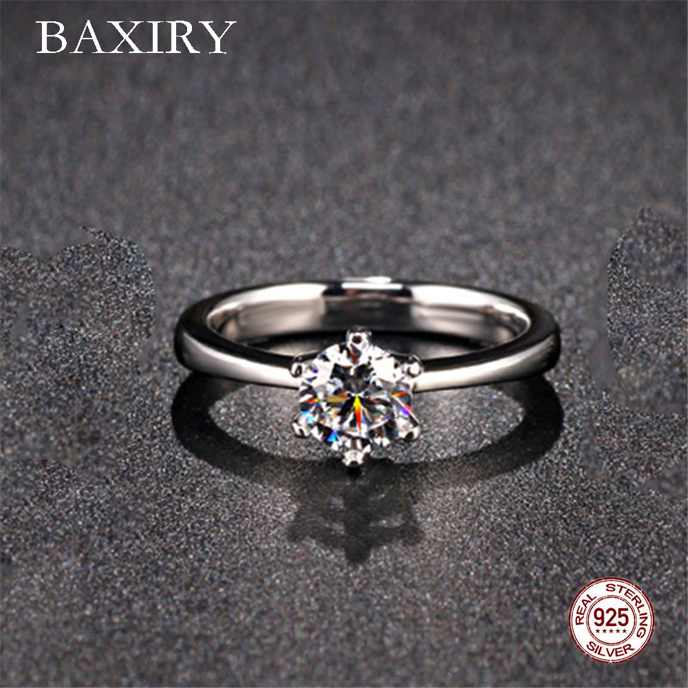 Trendy Amethyst Gemstones Silver 925 Jewelry Engagement Rings Aquamarine Ring For Women Silver Ring Blue Sapphire Ring 2019 New
