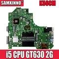С сенсорной функцией S550CM материнская плата i5 CPU GT630 2GB для ASUS S550C S56C S550CB S550CM материнская плата для ноутбука S550CB материнская плата