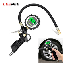 Vehicle-Tester Lcd-Display Manometer Led Inflation-Monitoring Tire Air-Pressure Digital