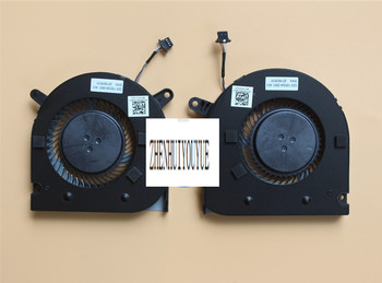 New  for DELL G3-3590 CPU+GPU COOLING FAN 04NYWG 0160GM R+L