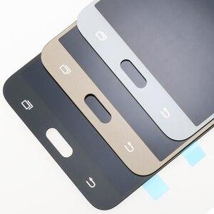 Image 5 - Original 5.5 Super Amoled LCD สำหรับ Samsung Galaxy J7 2016 J710 J710F J710M J710G จอแสดงผล LCD Touch Screen Digitizer เปลี่ยน