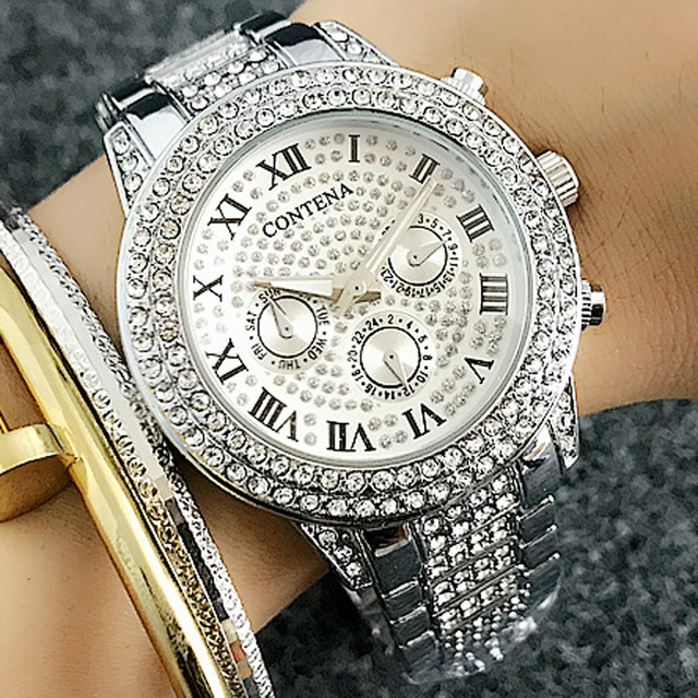 Contena Luxury women watch