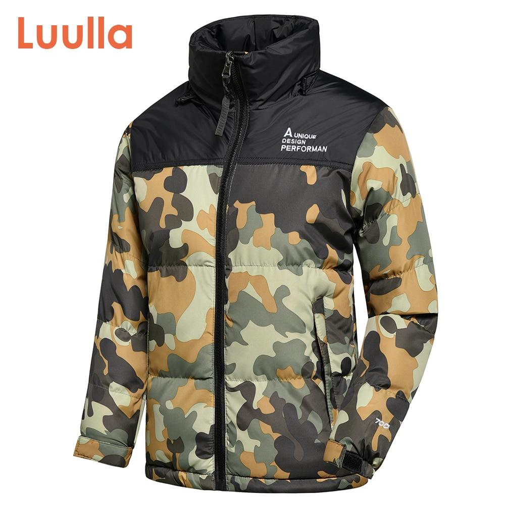 Men 2020 Winter Autumn New Outwear Camouflage Hooded Thick Parkas Jackets Coat Men Fashion Casual Loose Fit Hat Parka Jacket Men