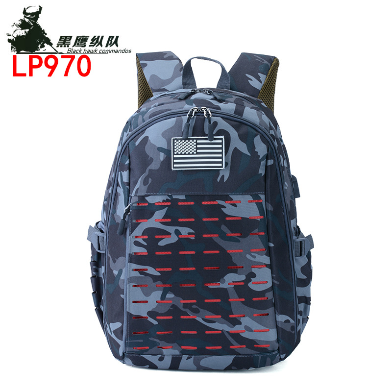 A Generation Of Fat 3D Tactical Backpack Outdoor Camouflage Mountaineering Bag Army Fans Ye Zhan Bao Riding Backpack Cross Borde