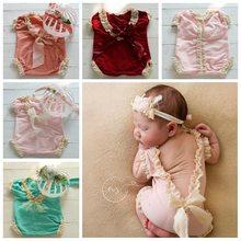 Одежда для новорожденных девочек реквизит фотосъемки малышей