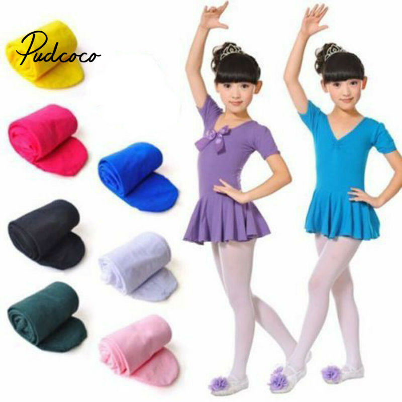 2020 New Newborn Baby Stocking Soft Cotton Tights Pantyhose For Girls Warm Tights For Newborn Baby 4-12 Years Old Candy Colors