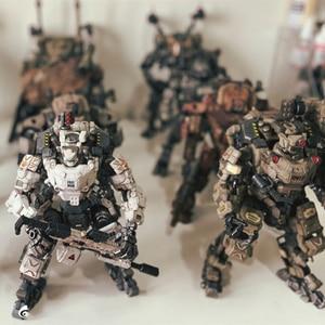 Image 2 - 5 styles JOYTOY 1/25  GOD OF WAR 86  Mecha  Robot Action Figure model Toys Gift For Kids  (2pcs/set)