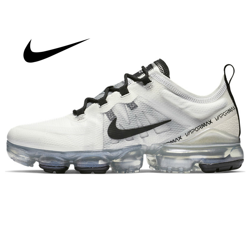 Original Nike Air VaporMax 2019 Women's Running Shoes Comfortable Outdoor Sneakers Jogging Athletic Designer Footwear AR6632-100