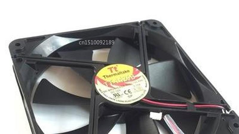 For Original TT-1425B 14cm 12V 0.70A D14BM-12 14025 140*140*25MM Double Ball Fan Free Shipping