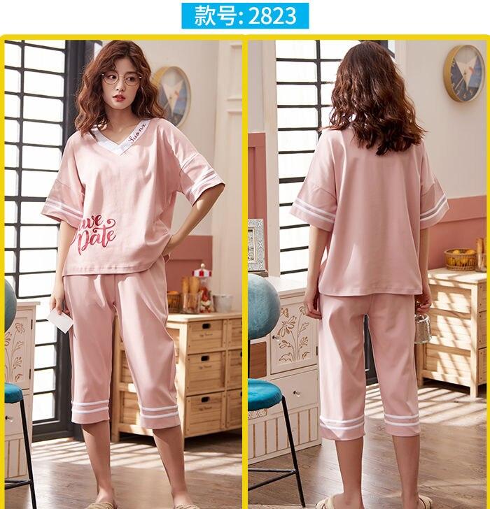 verão 4xl estilo coreano elástico homewear estudantes