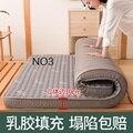 Роскошный 10 см натуральный латексный и пены памяти наполнитель матрас стереоскопический дышащий Удобный Один Двуспальный Матрас