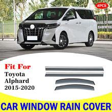 Козырек для окон toyota alphard защита от дождя автомобиля навес