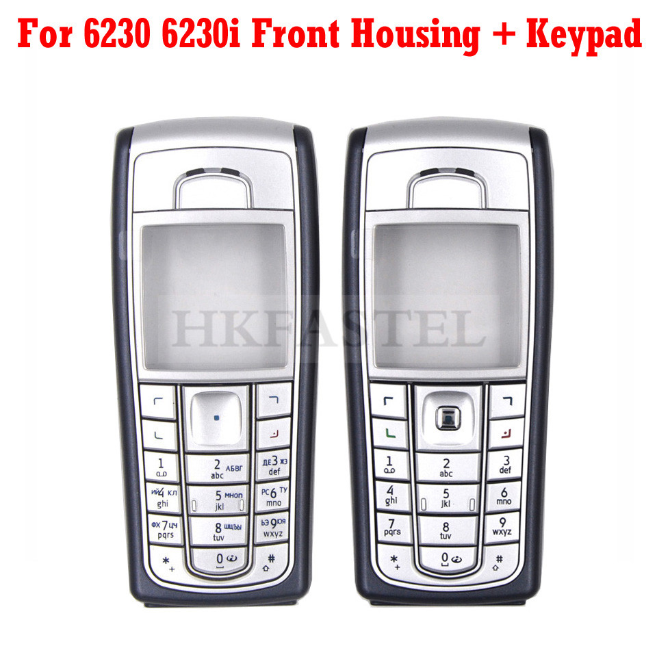 New original Housing For <font><b>Nokia</b></font> 6230 <font><b>6230i</b></font> Mobile Phone Front Cover with LCD lens <font><b>Case</b></font> ( No Back Cover No Keypad ) image