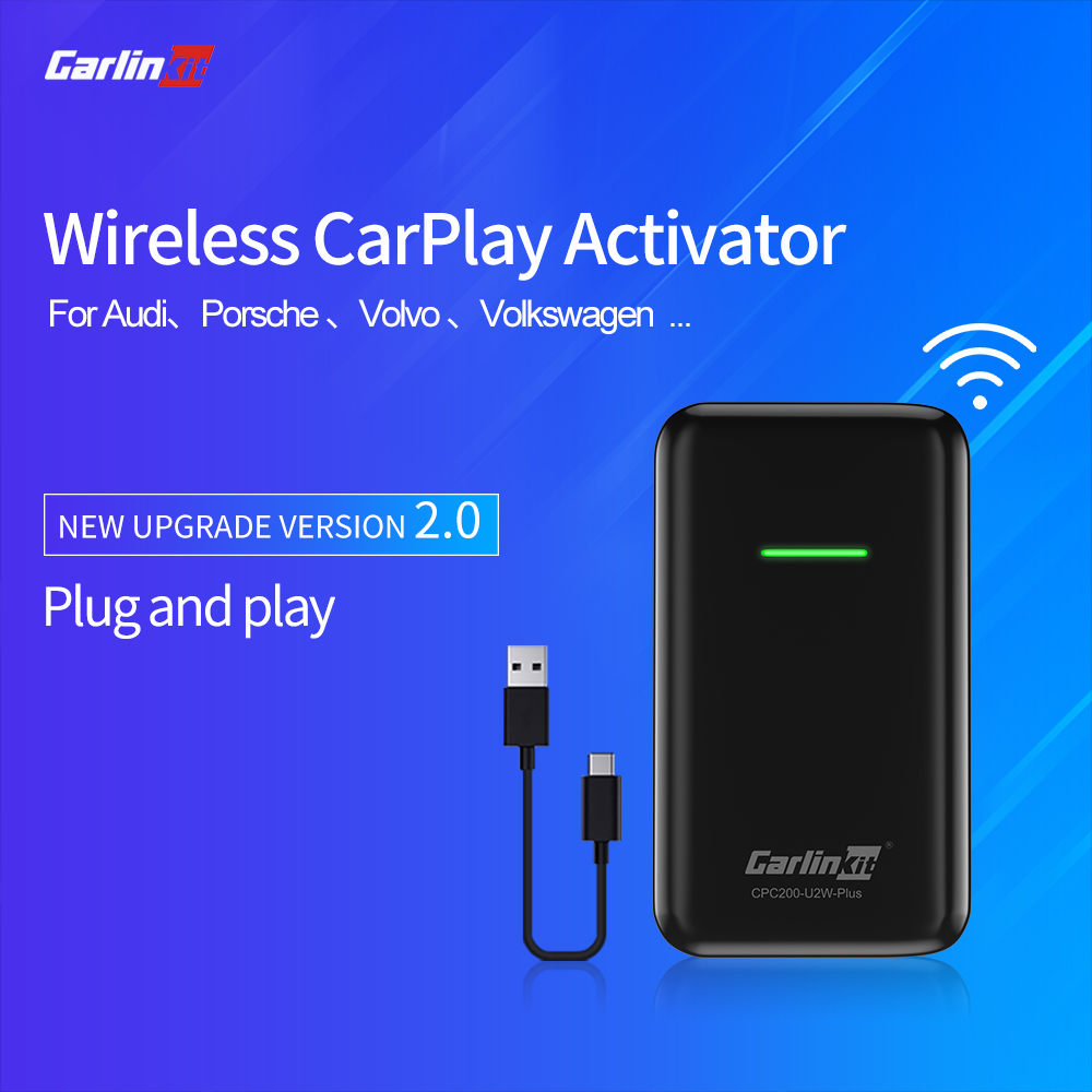Carlinkit Apple CarPlay  Wireless Activator For Audi Porsche WV Volvo Auto Connect Wireless Adapte Carplay Auto