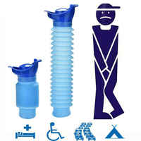 New Hot Sale 750ML Portable Adult Urinal Outdoor Camping Travel Urine Car Urination Pee Soft Toilet Urine Help Men Women Toilet
