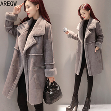 Fur Coat Jacket Faux-Fur Women High-Quality And Winter Warm