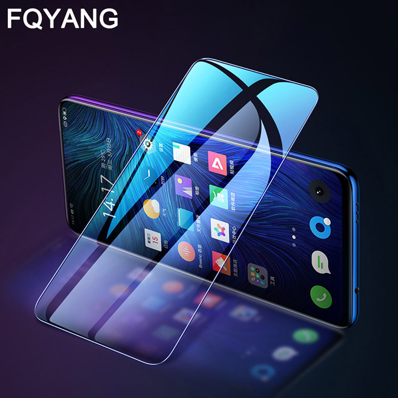 FQYANG 2pcs 0.26mm Protective Glass For OPPO Realme 3Pro x 2 1 pro Tempered Screen Protector U1 C2 C1 2018 2019