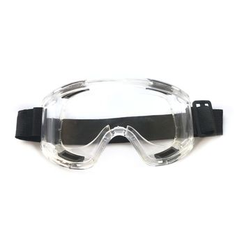 Protective Safety Glasses Clear Anti-Fog Splash Impact Eye Protection for Lab Chemical Workplace Safety 3m 11228 safety work goggles glasses economy clear lens anti chemical splash goggle eye protection labor sand proof striking