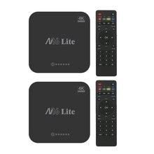 2pcs M16 Lite Android Smart Tv Box Ddr3 16G Emmc Rom Set Top