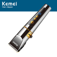 Kemei KM-9160 Hair Trimmers Quick Charging Electric Hair Clipper Salon Tool professiona R type obtuse angle protection Razor