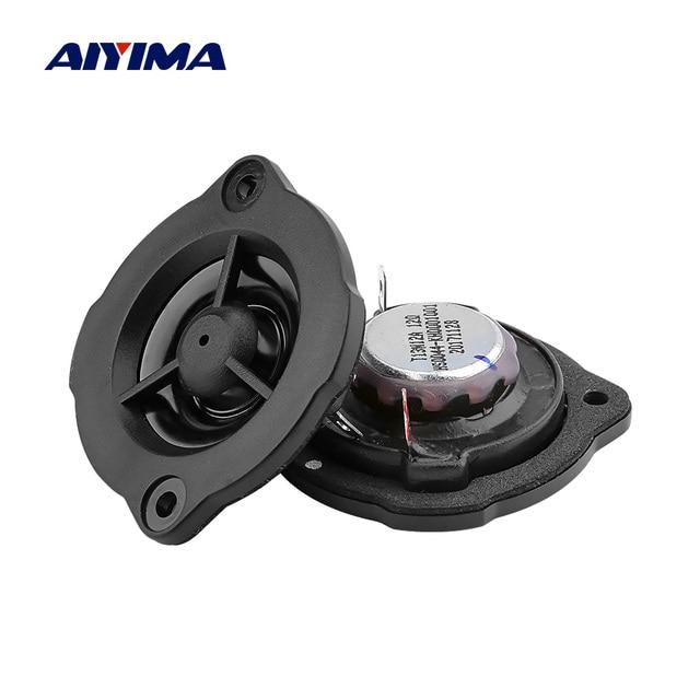 AIYIMA 2Pcs Tweeters 12 Ohm 5W Car Speakers Driver Hifi Sound Music DIY Treble Speaker For Sound System Loudspeaker
