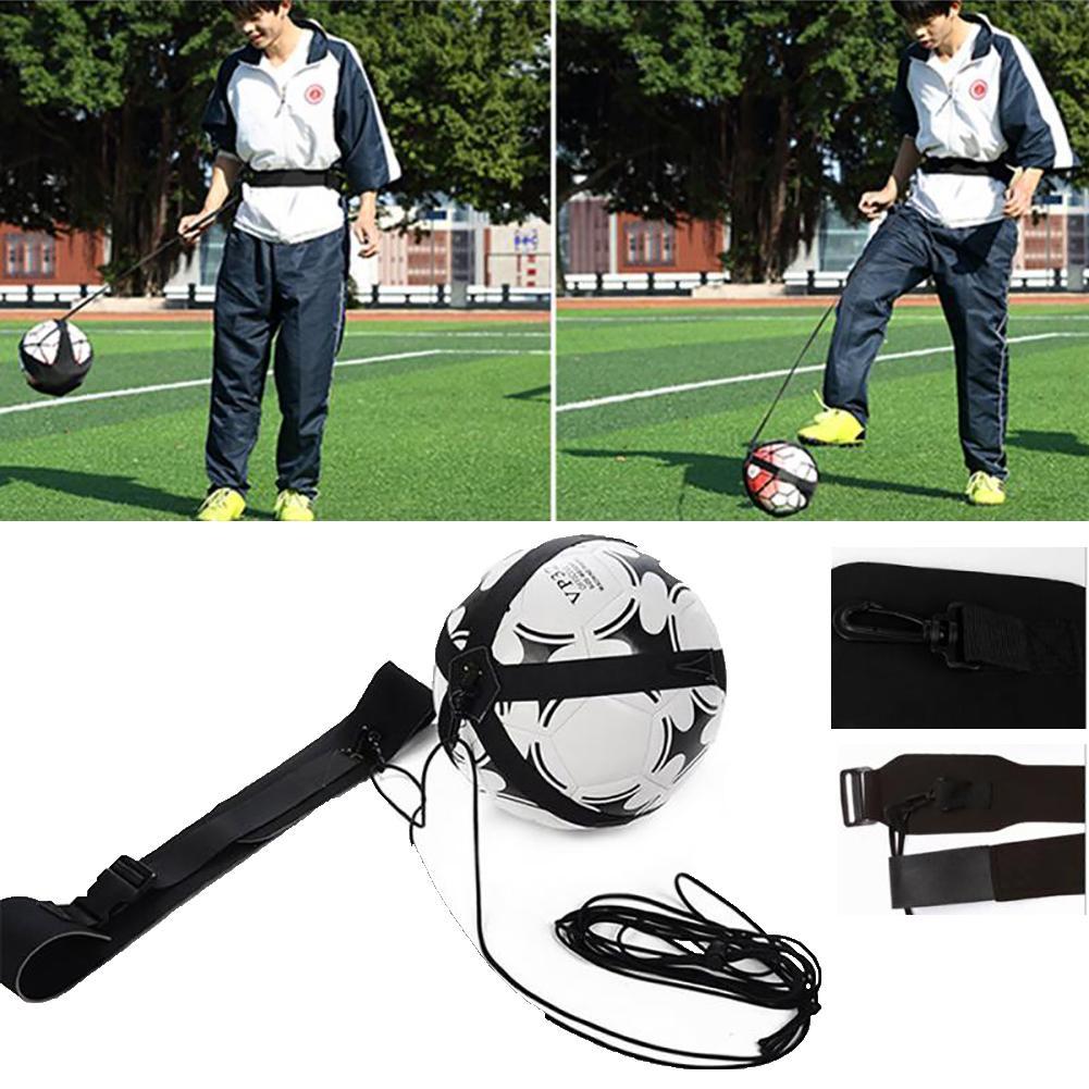 Adjustable Football Kick Trainer Soccer Ball Kicker Practice Belt Training Tool Football Kick Trainer Soccer Ball Kicker Practic
