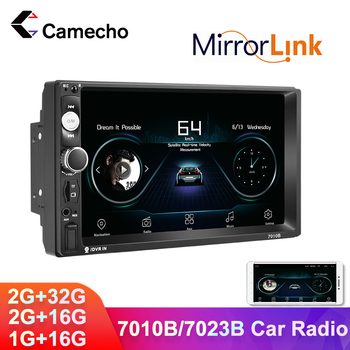 Camecho Car Radio 2 Din Android 8.1 Car Multimedia MP5 Player 7 HD Autoradio Bluetooth For Volkswagen Nissan Hyundai Kia toyota image