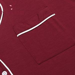 Image 4 - INVOLAND נשים בתוספת גודל תורו למטה צווארון קצר שרוול כיס כותונת הלבשת