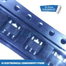 New original NJM2880U05 NJM2880U05(TE1) SOT89-5 IC 20 pçs/lote