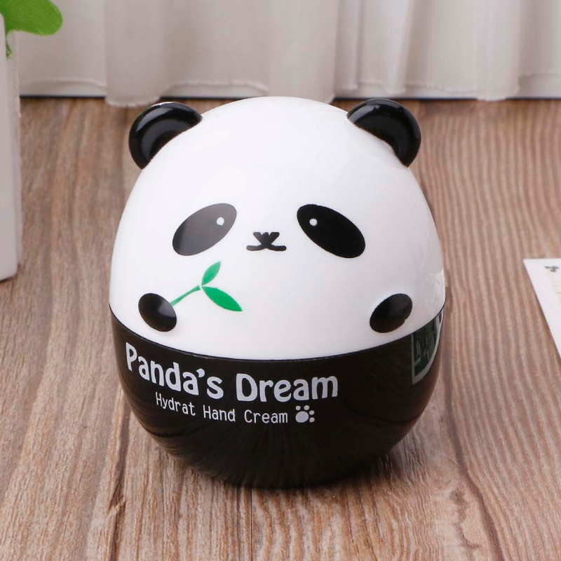 Panda Shape Hand Cream For Lift Hardening Moisturizing Nourishing Exfoliating 50JF