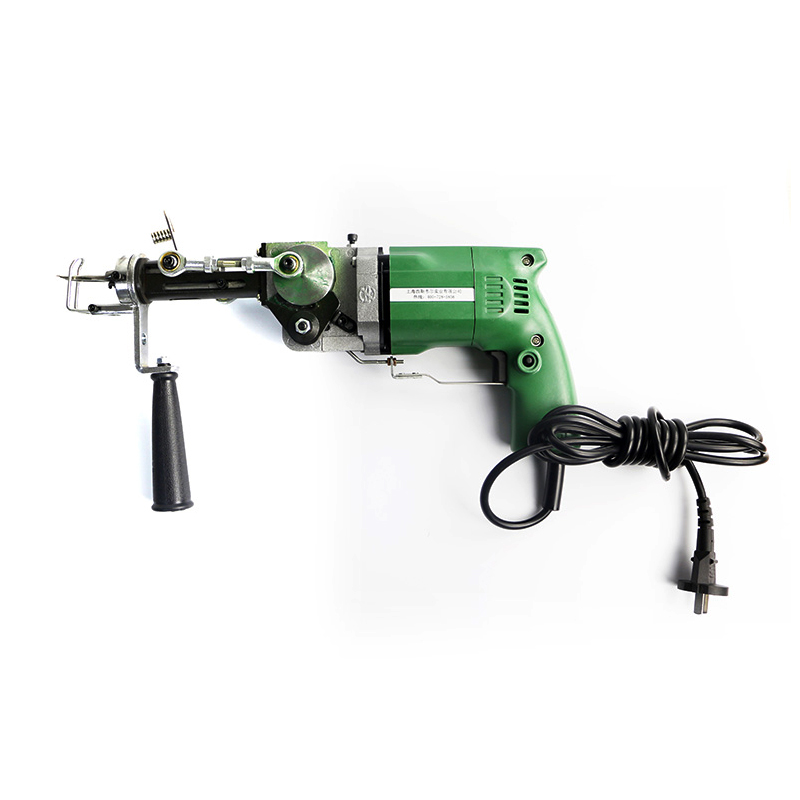 220V  Electric Carpet Weaving Gun Hand Rug Tufting Gun Portable Carpet Needling Machine Knitting Tools Both Cut Pile Loop Pile