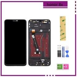 8x Lcd Pour 6.5» 'Huawei Honneur 8X écran LCD Affichage + écran tactile Numériseur avec Cadre JSN-L21 JSN-L42 JSN-AL00