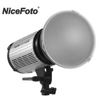 NiceFoto LED-1500B II 150W Daylight LED Video Light CRI 95+ Dual Power Supply Mobile APP 2.4G Remote Control