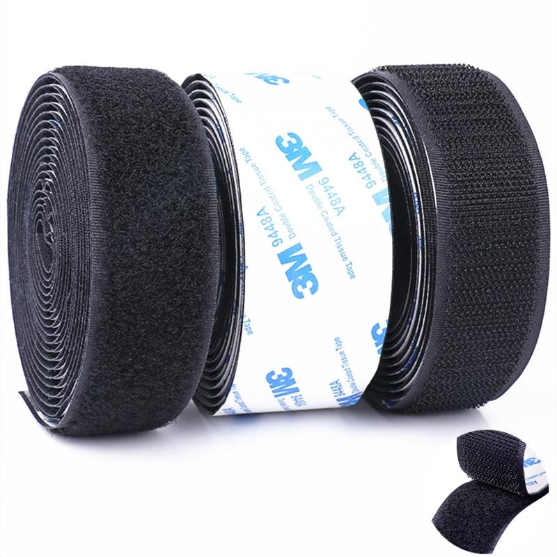 Прочная самоклеящаяся лента 3 м/пара, нейлоновые крючки и петли, наклейка, клей Velcros Magic для украшения дома и автомобиля своими руками