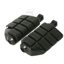 Motorcycle 10mm Mount Foot Rest Pegs For Harley Softail Dyna Glide Fat Boy Road King Sportster XL 883 1200