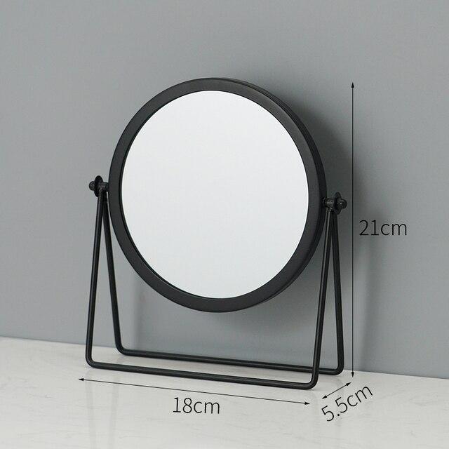 Metal Decorative Mirror Lady Desktop Makeup Mirror Crafts Dimensional Home Decor Accessories    WJ021710 3