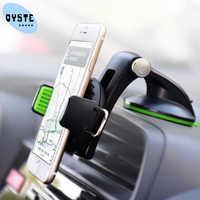 Suporte porta celular para o telefone no carro brisa celular suporte do carro móvel suporte para smartphone voiture para samsung s10 s9 s8