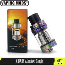 V8 X Atomizer dla dziecka wkład do e-papierosa Atomizer pojedyncze z V8 X Baby M2 0 25ohm cewki 510 nici zbiorniki do e-papierosów tanie tanio vaping mods Wymienne