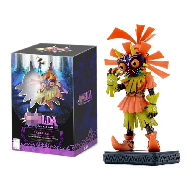 Die Legende Spielzeug von Zelda Cosplay Action Figur Spielzeug Majoras Maske 3D Modell Begrenzte Edition Spielzeug Puppen Mit Box