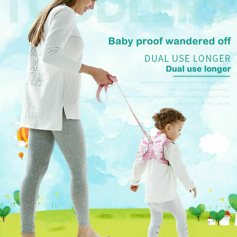 Harness Baby Strap Toddler Walking Keeper Backpack Anti Lost Leash Traction Belt