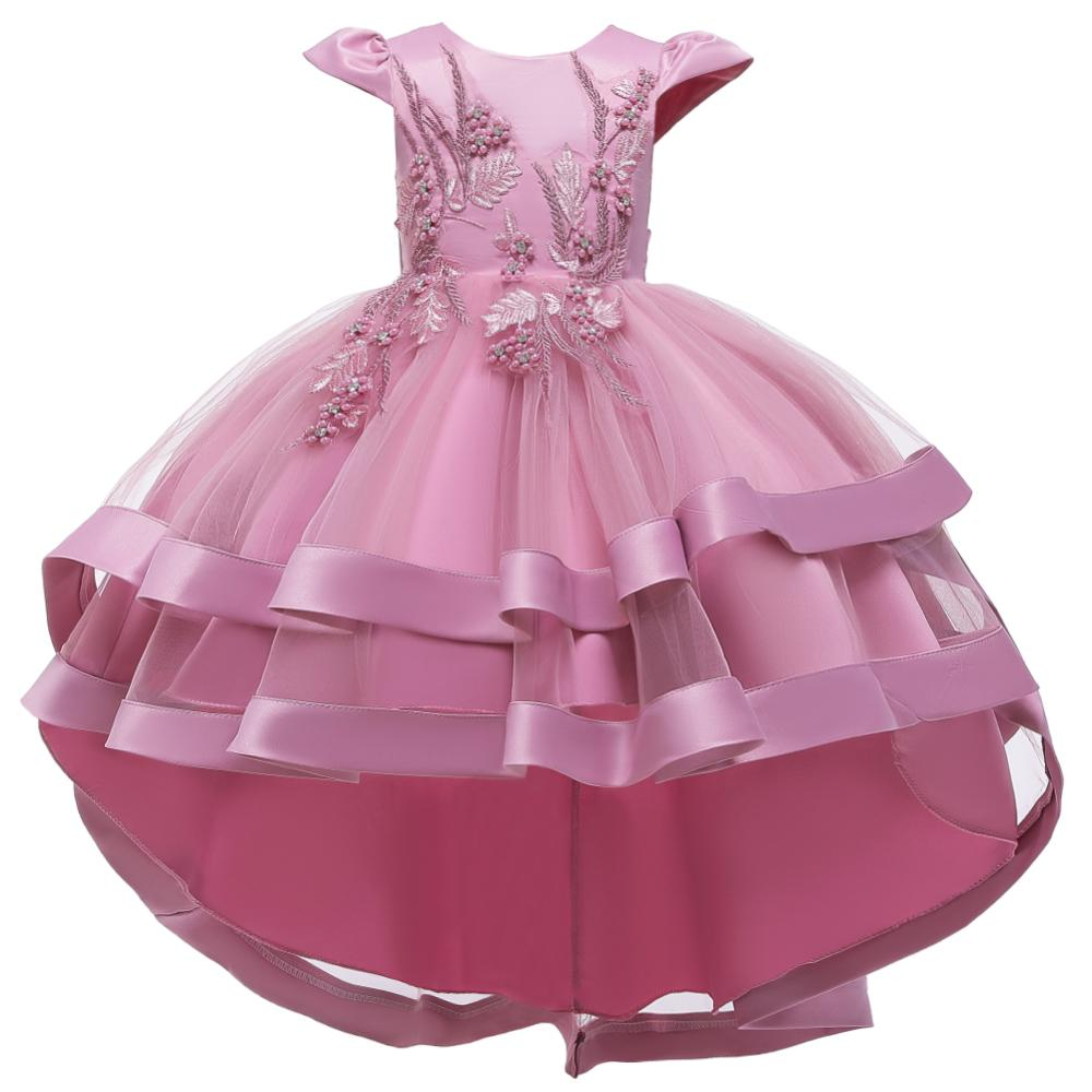 Girls Dress Christmas Kids Princess Dresses For Girls Clothing Flower Party Girls Dress Elegant For Girl Clothes 3-12Yrs wear 1