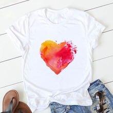 Футболка в стиле Харадзюку Женская Милая футболка женская с